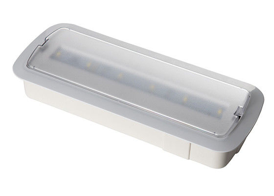 Wall Recessed LED Rechargeable Emergency Luminaire Three Hours Operation